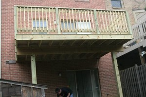 Photo #15: PORCH and DECK building and repairs 12x12 deck $2000 w/permit