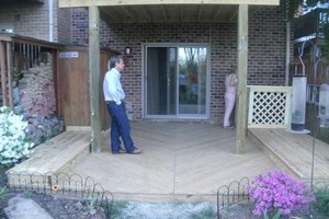 Photo #16: PORCH and DECK building and repairs 12x12 deck $2000 w/permit