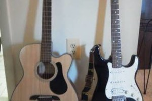 Photo #1: Easy Pro Rock Guitar Lessons /40+Yrs. Exp. / Any Genere /1950's-90's