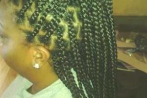 Photo #6: Large Box Braids & Large Senegalese Twists $60