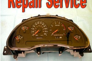 Photo #1: 1994-1998 MUSTANG CLUSTER REPAIR ONLY!