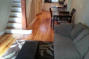 Photo #17: HARDWOOD FLOOR REFINISHING (+ SAND and REPAIR)