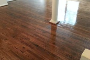 Photo #9: HARDWOOD FLOOR REFINISHING (+ SAND and REPAIR)
