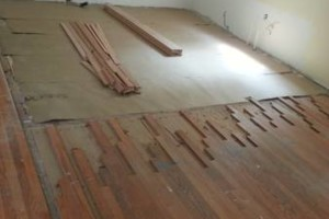 Photo #4: HARDWOOD FLOOR REFINISHING (+ SAND and REPAIR)