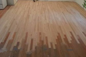 Photo #3: HARDWOOD FLOOR REFINISHING (+ SAND and REPAIR)