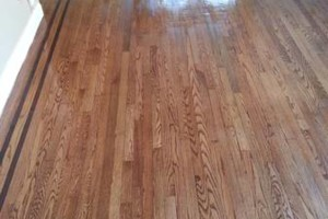 Photo #1: HARDWOOD FLOOR REFINISHING (+ SAND and REPAIR)