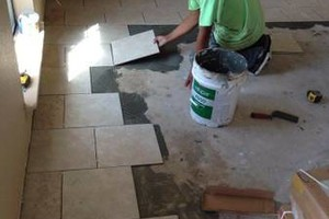 Photo #3: Flores flooring & drywall