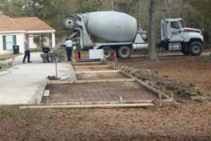 Photo #18: Concrete work (get rid of the mud)