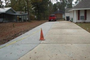 Photo #17: Concrete work (get rid of the mud)