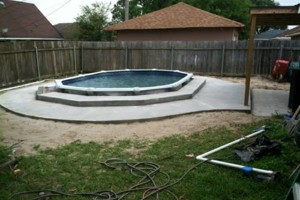 Photo #15: Concrete work (get rid of the mud)