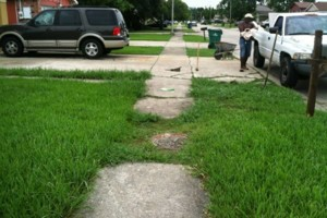 Photo #14: Concrete work (get rid of the mud)