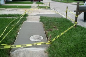 Photo #13: Concrete work (get rid of the mud)
