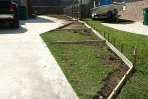Photo #9: Concrete work (get rid of the mud)
