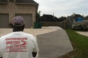 Photo #7: Concrete work (get rid of the mud)