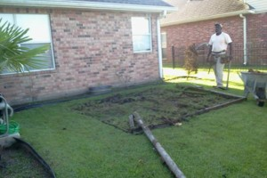 Photo #6: Concrete work (get rid of the mud)