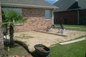 Photo #5: Concrete work (get rid of the mud)