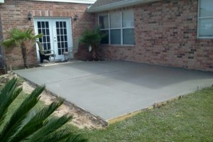 Photo #2: Concrete work (get rid of the mud)