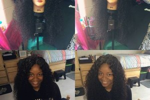 Photo #1: DOLLED BY SHAKERRA. Crochets, Glue ins, Hair color, and more..
