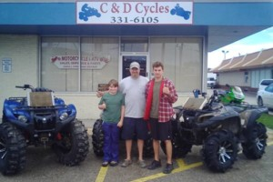 Photo #1: C&D Cycles, We Treat You Like Family
