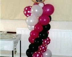 Photo #5: Balloon Centerpieces and Columns