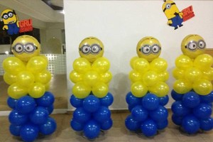 Photo #3: Balloon Centerpieces and Columns