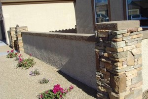Photo #2: FREE ESTIMATES! BLOCK WALLS-PAVERS-STONE VENEER