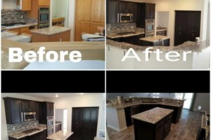 Photo #7: CABINET REFINISHING/ PAINTING!