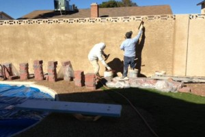 Photo #10: Stucco Block Walls, Drywall, Water Damage...