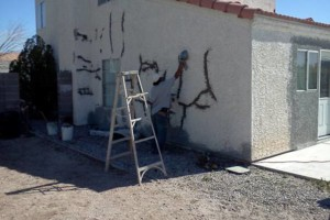 Photo #2: Stucco Block Walls, Drywall, Water Damage...