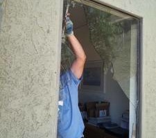 Photo #15: Glass, Mirrors, Windows Shower, Enclosures Solar screens...