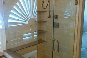 Photo #5: Glass, Mirrors, Windows Shower, Enclosures Solar screens...