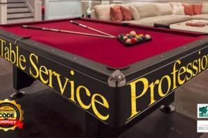 Photo #1: POOL TABLE MOVERS/POOL TABLES SERVICE