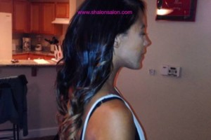 Photo #8: Ombr'e Colored Remy Hair + Installation $299