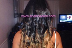 Photo #7: Ombr'e Colored Remy Hair + Installation $299