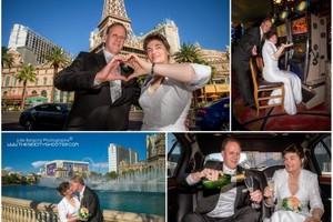 Photo #3: Wedding Photography - Vegas Sign, Eiffel Tower, Bellagio Fountains....