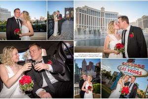 Photo #2: Wedding Photography - Vegas Sign, Eiffel Tower, Bellagio Fountains....