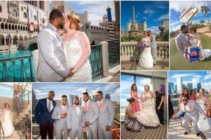 Photo #1: Wedding Photography - Vegas Sign, Eiffel Tower, Bellagio Fountains....