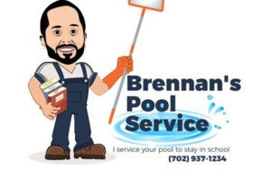 Photo #1: Brennan's Pool Service. That is in a Class By Itself!