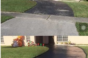 Photo #2: Parking lot / home driveway repair services