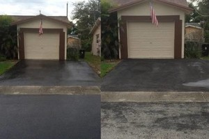 Photo #1: Parking lot / home driveway repair services