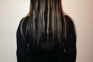Photo #1: Brazilian 100% Human Weaving Hair