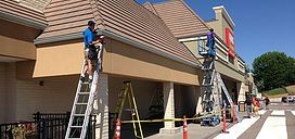 Photo #1: Mountain Reach Seamless Gutters
