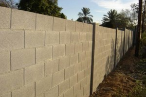 Photo #1: Sun State Concrete. BLOCK FENCING and MORE!