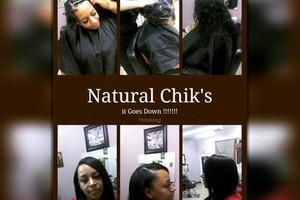 Photo #4: Natural Chik's 24/7 Hair Salon