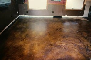 Photo #2: Concrete Acid Stain for your home or business