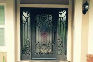 Photo #1: Iron Works. Wrought Iron Gates. Free estimates!