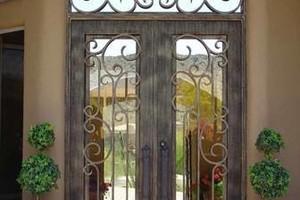 Photo #2: Iron Works. Wrought Iron Gates. Free estimates!