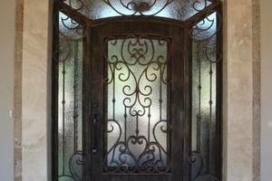 Photo #4: Iron Works. Wrought Iron Gates. Free estimates!