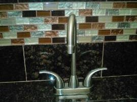 Photo #3: TILE INSTALL SERVICES (Father & Son tile team)