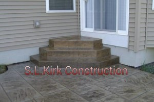 Photo #18: Decorative Stamped Concrete. S.L.Kirk construction